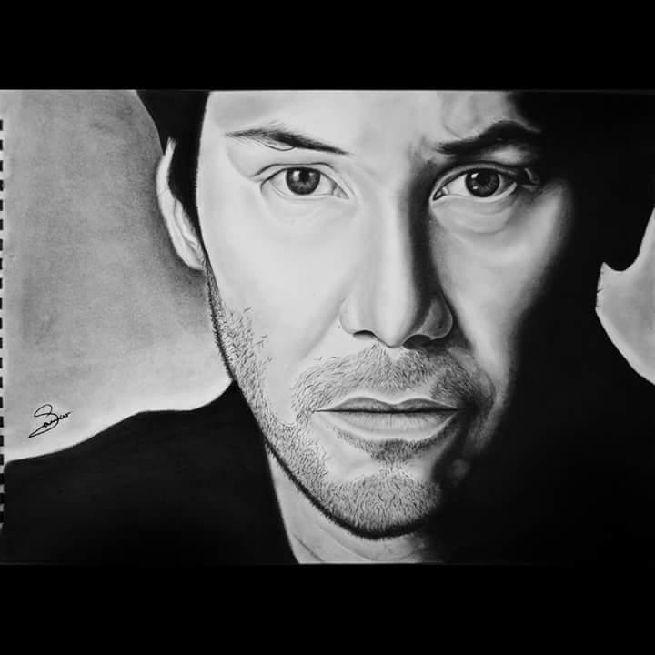 Keanu Reeves par SamarMSalah